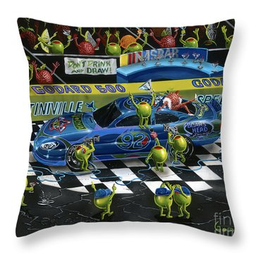 Nasbar 2 Throw Pillow