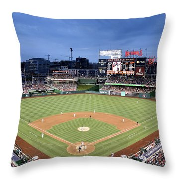 Nats Park - Washington Dc Throw Pillow