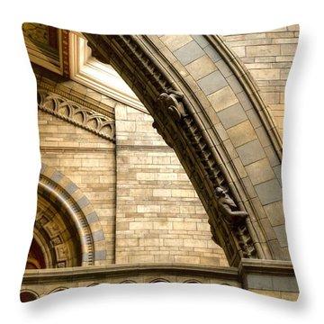 Natural History Museum Kensington  Throw Pillow