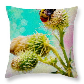 Collection Without Distructions Throw Pillow