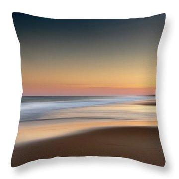 Nauset Beach 6 Throw Pillow