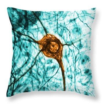 Neuron, Tem Throw Pillow