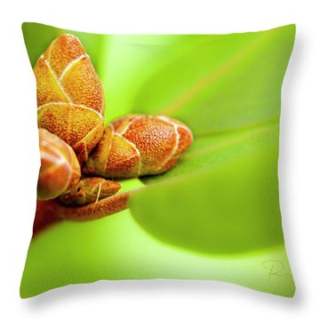 New Birth Throw Pillow