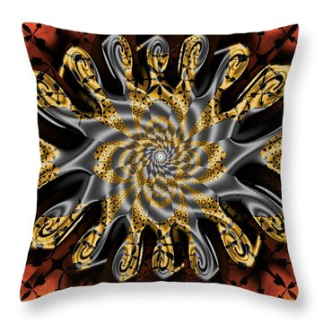 New Dimensions Throw Pillow by Jim Pavelle