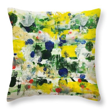 New Haven No 6 Throw Pillow