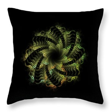 New Life Throw Pillow by Bonnie Bruno