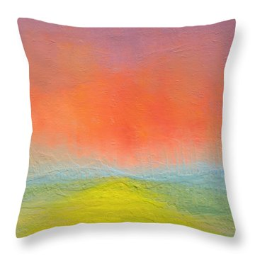 New Path Throw Pillow