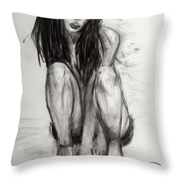 New Shoes Throw Pillow