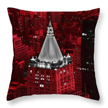 New York Life Building Throw Pillow