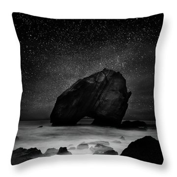 Night Guardian Throw Pillow by Jorge Maia