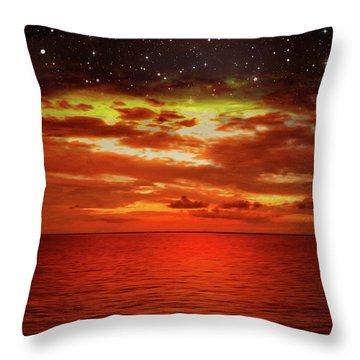 Night Is Falling 2 Throw Pillow