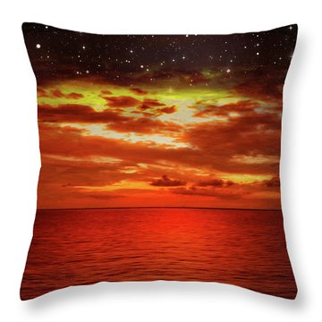 Night Is Falling 2 Throw Pillow