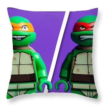 Ninja Turtles Throw Pillow