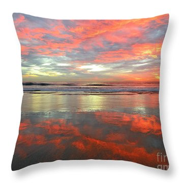 North County Reflections Throw Pillow