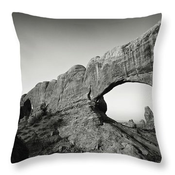 North Window Arch Throw Pillow
