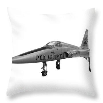 Northrop F5a Fighter Throw Pillow
