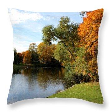 Scandinavian  Autumn  Throw Pillow
