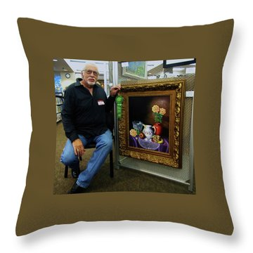 Nostalgic Vision  Throw Pillow
