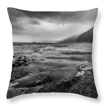Throw Pillow featuring the photograph Not A Better Day To Go Fishing by Dmytro Korol