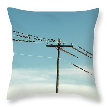 Not Like The Others Throw Pillow