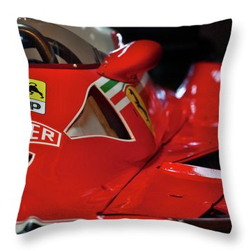 Throw Pillow featuring the photograph Number 11 By Niki Lauda #print by ItzKirb Photography