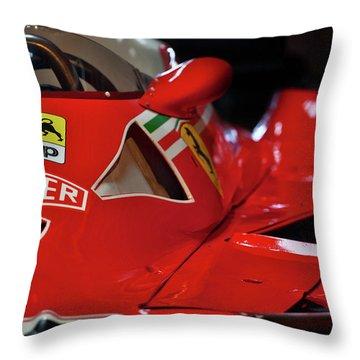 Number 11 By Niki Lauda #print Throw Pillow