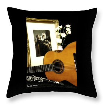 Throw Pillow featuring the photograph Number 2 by Elf Evans