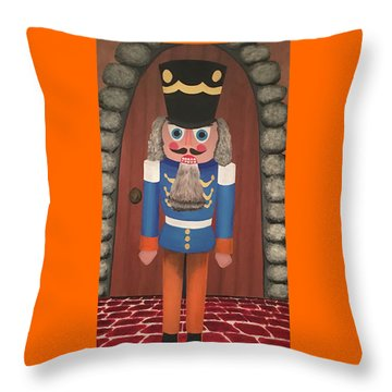 Nutcracker Sweet Throw Pillow by Thomas Blood