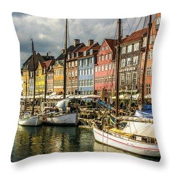 Nyhavn Throw Pillow