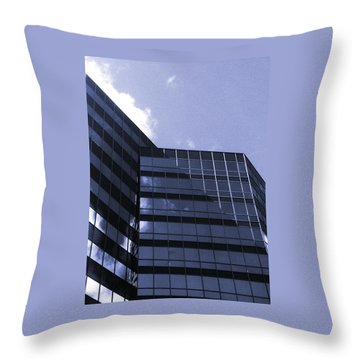Throw Pillow featuring the photograph Obscurity by Jamie Lynn