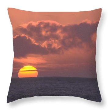Ocean Peace Throw Pillow