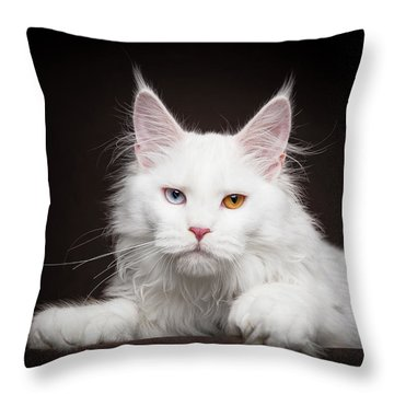 Odd Eye Throw Pillow