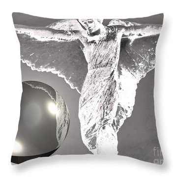 Throw Pillow featuring the photograph Ode by Beto Machado