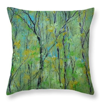 Awakening Of Spring Throw Pillow