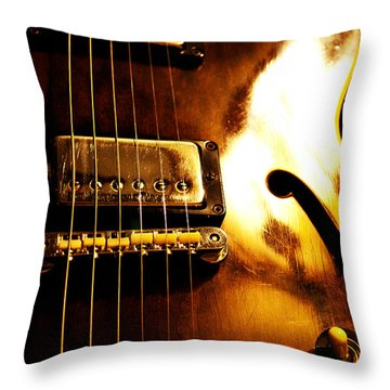 Old Faithful Throw Pillow by Christopher Gaston