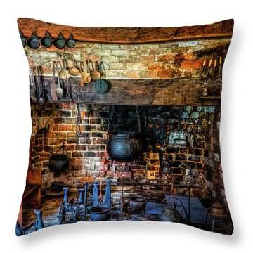 Old Kitchen Throw Pillow