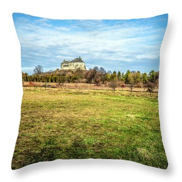 Olesko Castle  Throw Pillow
