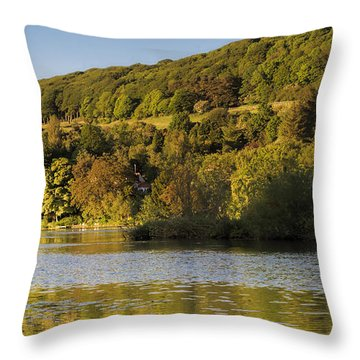 Olivers Mount Throw Pillow