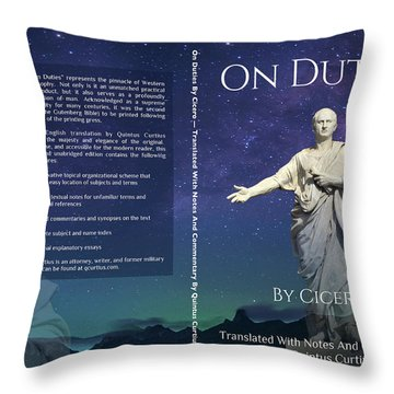 On Duties  Throw Pillow