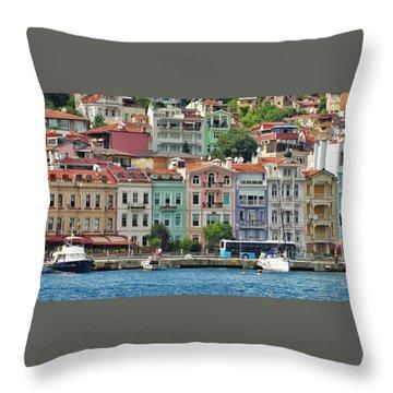 on the Bosphorus Throw Pillow