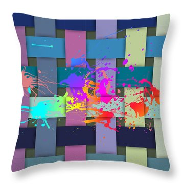One Classy Summer In The Hamptons Throw Pillow by Serge Averbukh