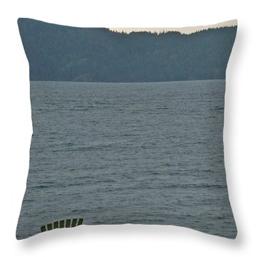 Orcas Island View Throw Pillow