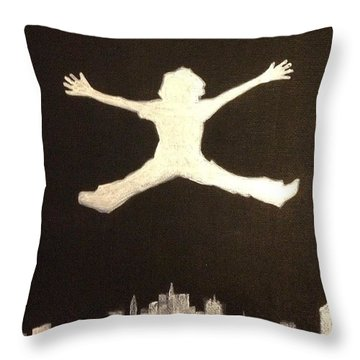 Follow Your Dreams Throw Pillow by Brandon McKenzie
