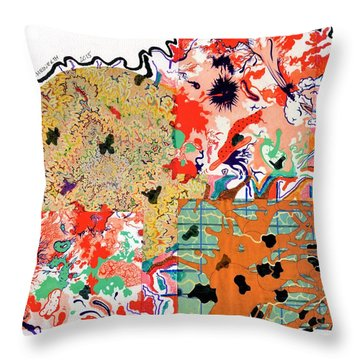 Organized Caos Throw Pillow by Paul Meinerth