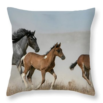 Out Of The Dust Throw Pillow