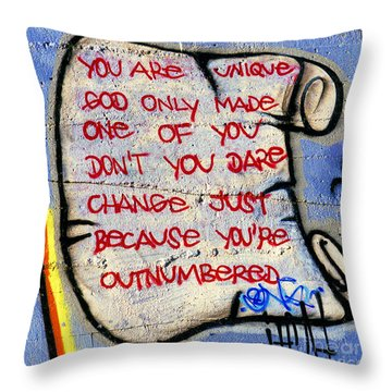 Outnumbered Throw Pillow by Paul W Faust -  Impressions of Light