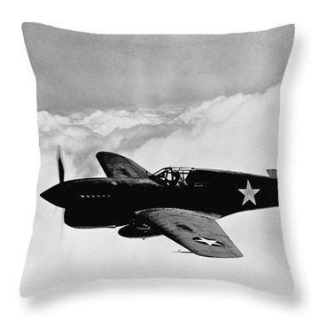 Plane Throw Pillows