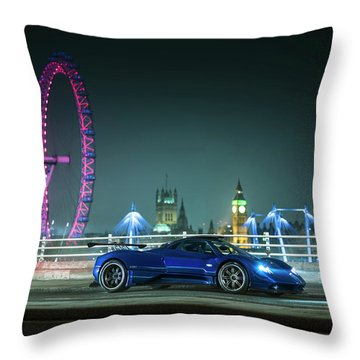 Pagani Zonda Md Throw Pillow