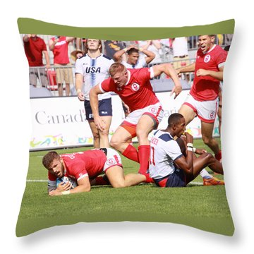 Pamam Games Mens' 7's Throw Pillow