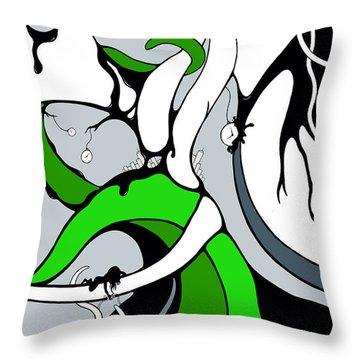 Parabys Throw Pillow